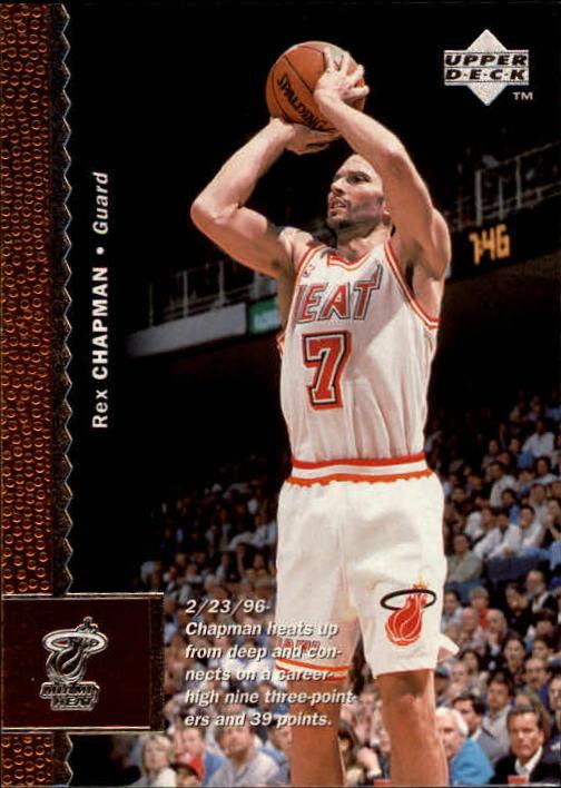 1996-97 Upper Deck #64 Rex Chapman