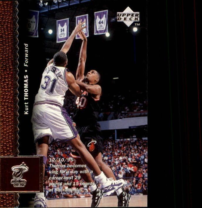1996-97 Upper Deck #67 Kurt Thomas