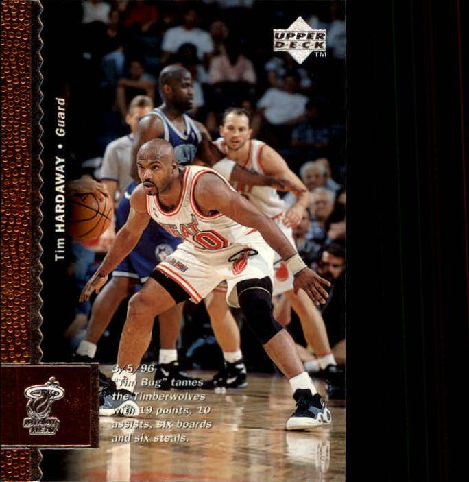 1996-97 Upper Deck #68 Tim Hardaway