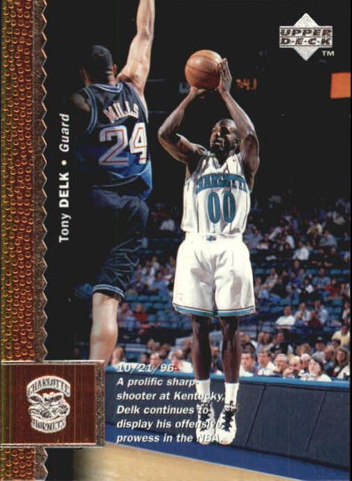 1996-97 Upper Deck #190 Tony Delk RC