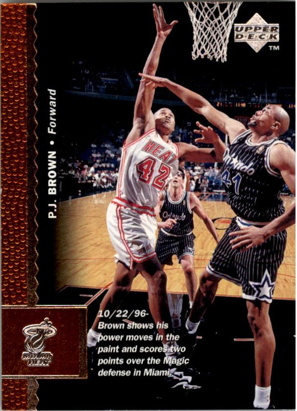 1996-97 Upper Deck #242 P.J. Brown
