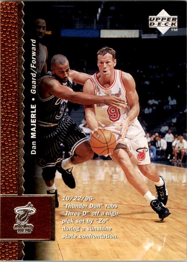 1996-97 Upper Deck #244 Dan Majerle