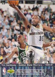 1996-97 Upper Deck #322 Tim Hardaway DN back image