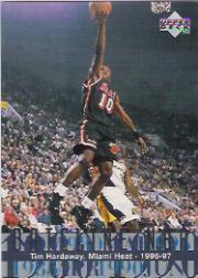 1996-97 Upper Deck #322 Tim Hardaway DN