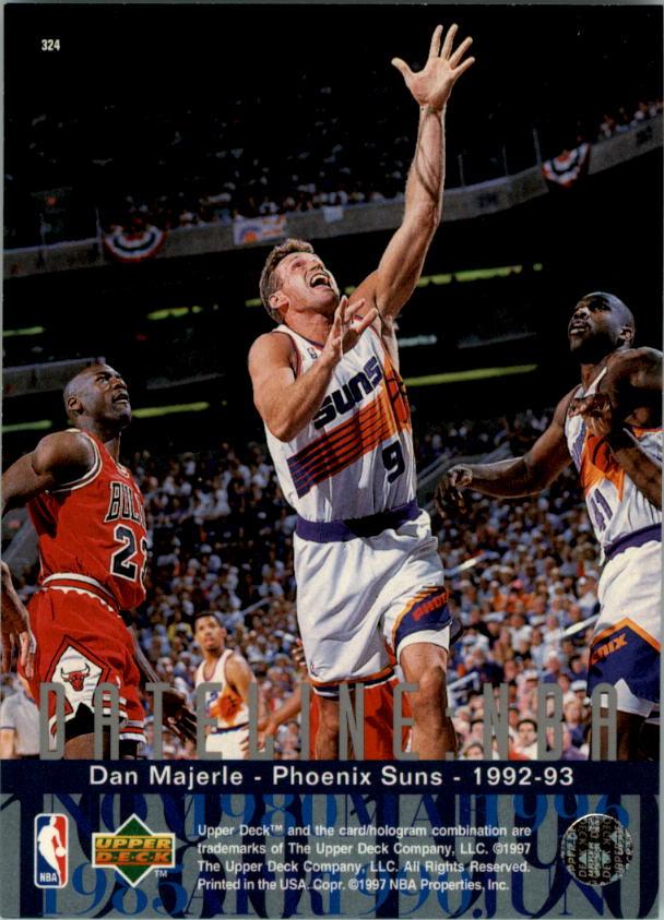 1996-97 Upper Deck #324 Dan Majerle DN back image