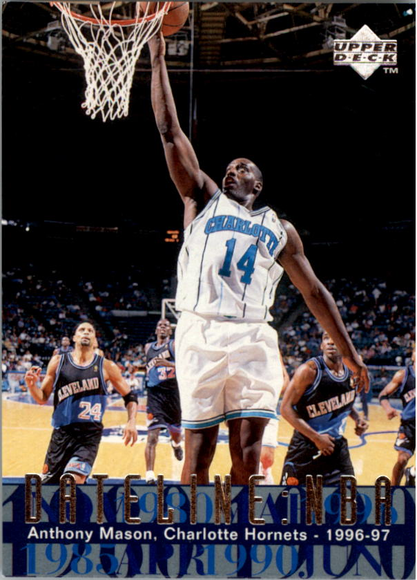 1996-97 Upper Deck #326 Anthony Mason DN