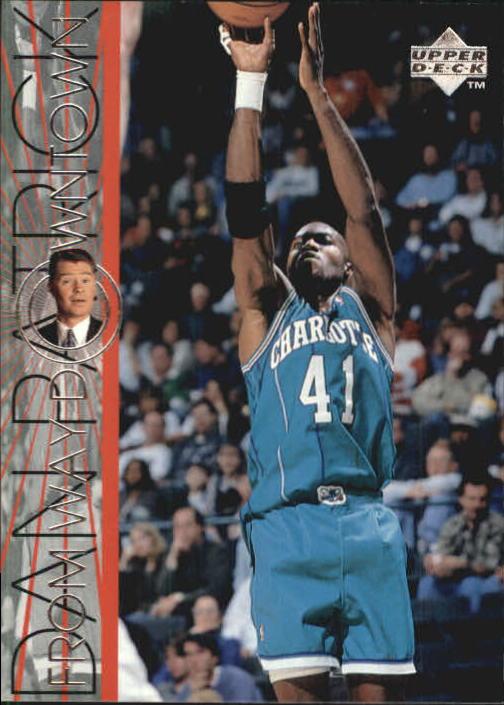 1996-97 Upper Deck #333 Glen Rice WD