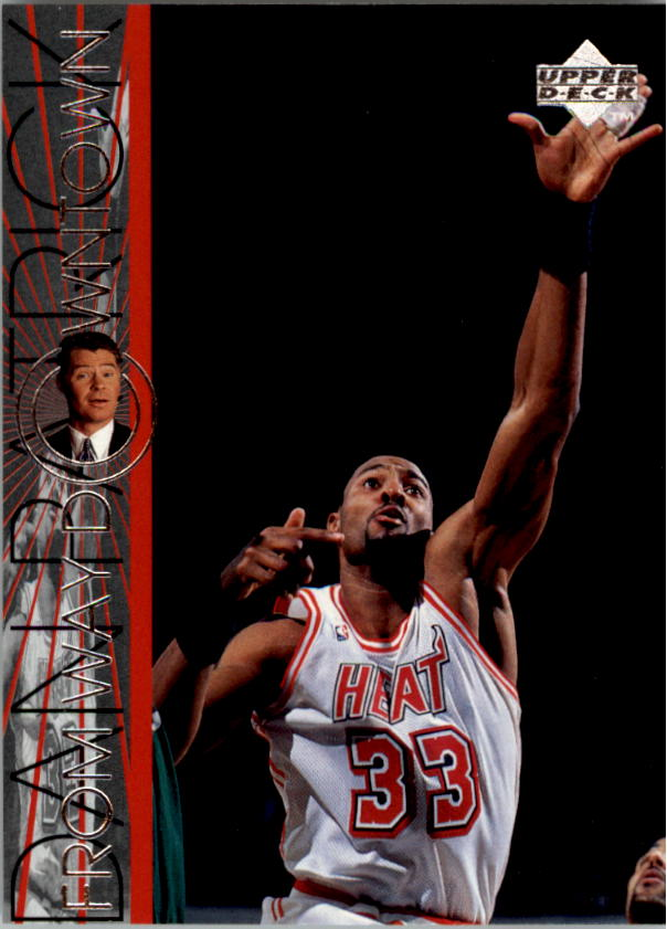 1996-97 Upper Deck #344 Alonzo Mourning WD