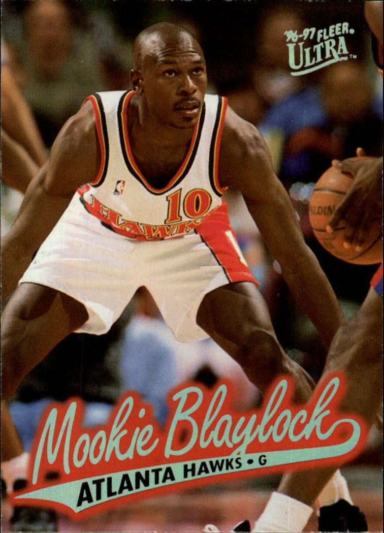 1996 97 Ultra 1 Mookie Blaylock NM MT