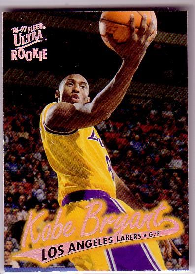 1996-97 Ultra #52 Kobe Bryant RC