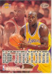 1996-97 Ultra Gold Medallion #G204 Shaquille O'Neal back image