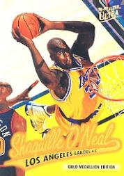 1996-97 Ultra Gold Medallion #G204 Shaquille O'Neal