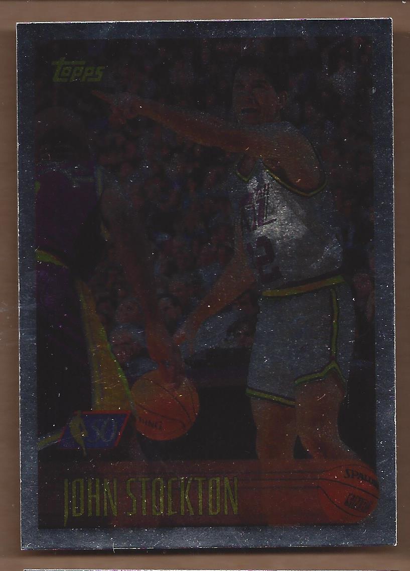 1996-97 Topps NBA at 50 #65 John Stockton