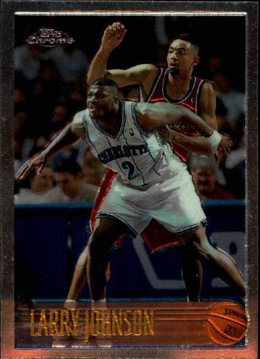1996-97 Topps Chrome #24 Larry Johnson