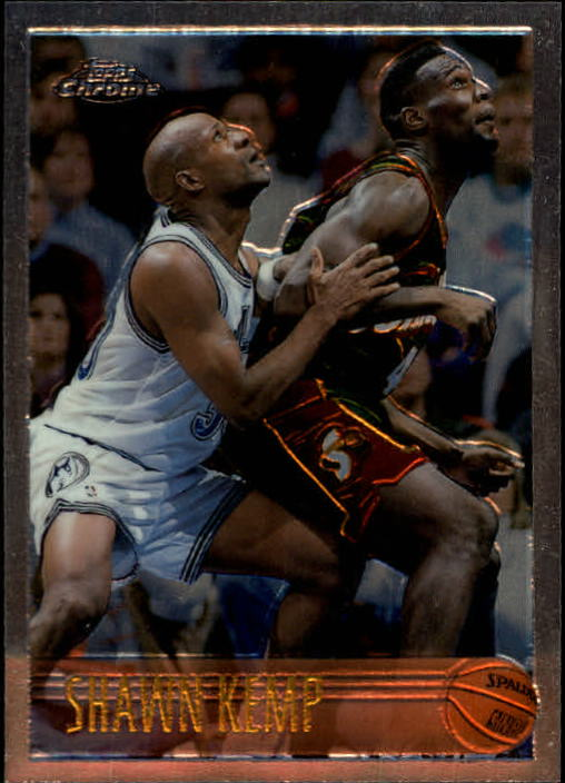 1996-97 Topps Chrome #50 Shawn Kemp