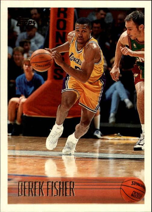 1996-97 Topps #206 Derek Fisher RC