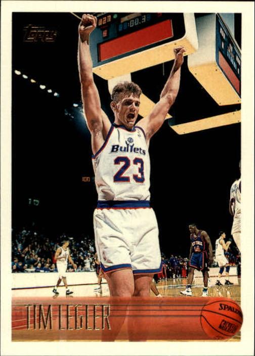 1996-97 Topps #210 Tim Legler