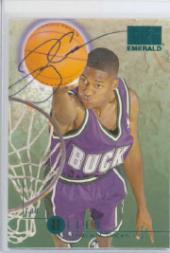 1996-97 SkyBox Premium Emerald Autographs #E1 Ray Allen