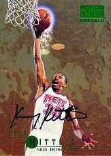 1996-97 SkyBox Premium Emerald Autographs #E4 Kerry Kittles