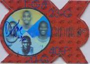 1996-97 SP SPx Force #A4 Michael Jordan/Anfernee Hardaway/Shawn Kemp/Damon Stoudamire AU