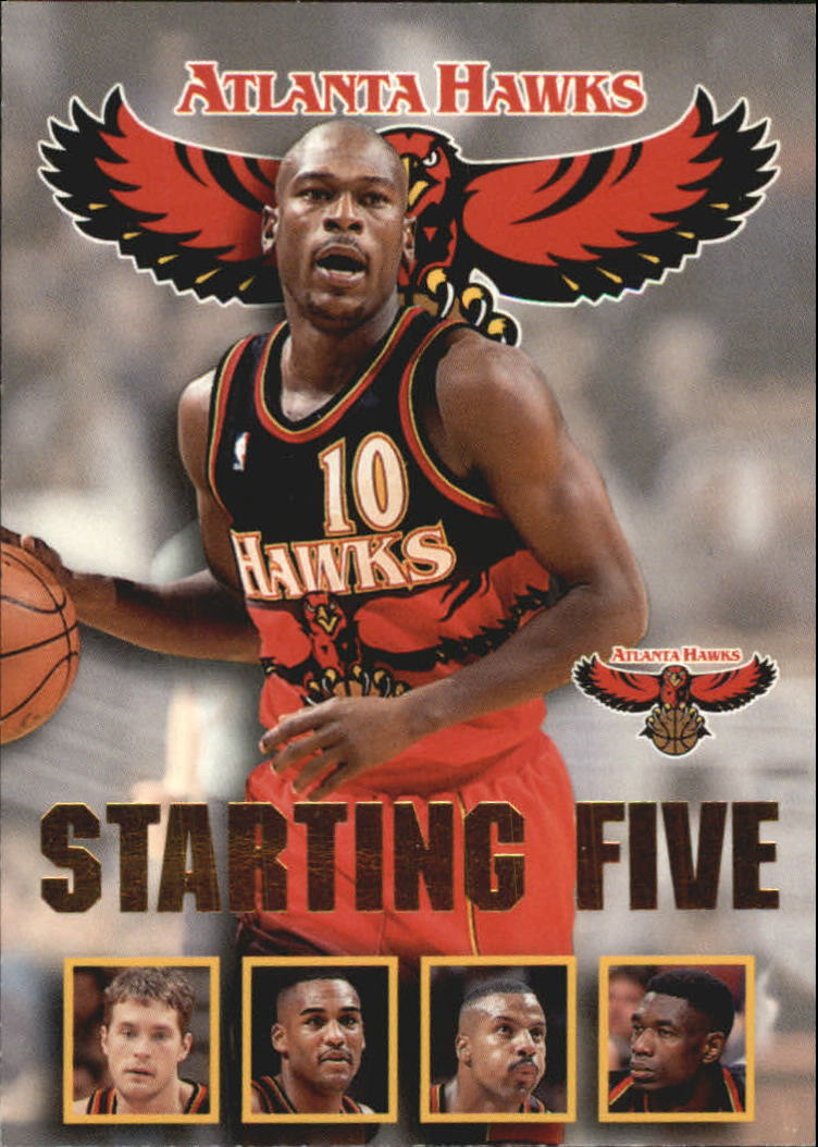 1996 97 Hoops Starting Five 1 Mookie Blaylock Christian Laettner