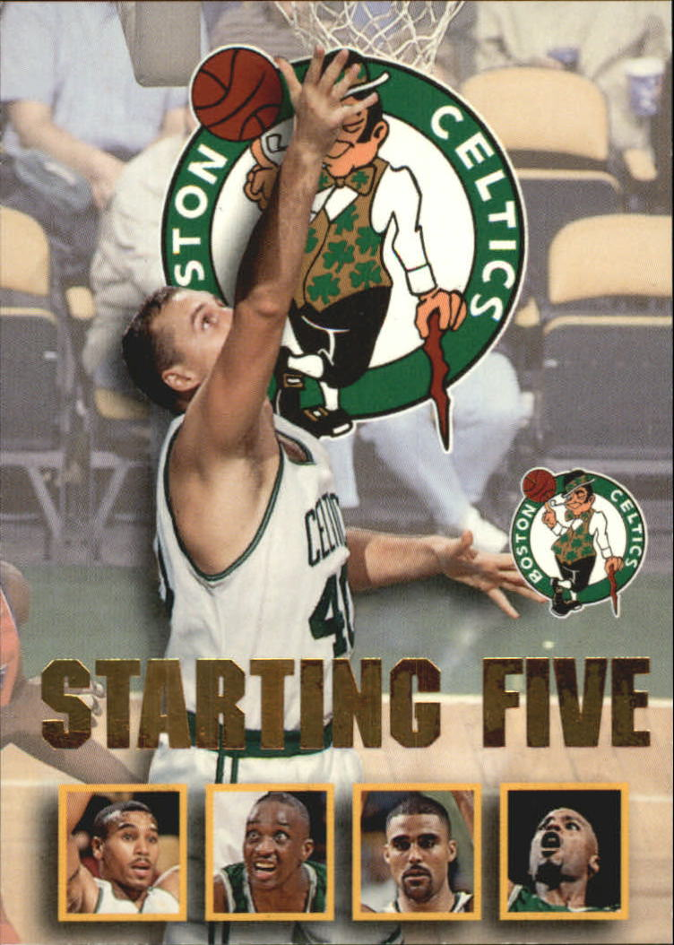 1996 97 Hoops Starting Five 2 Dana Barros Dee Brown Todd Day Rick