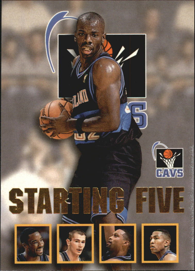 1996 97 Hoops Starting Five 5 Terrell Brandon Tyrone Hill Chris