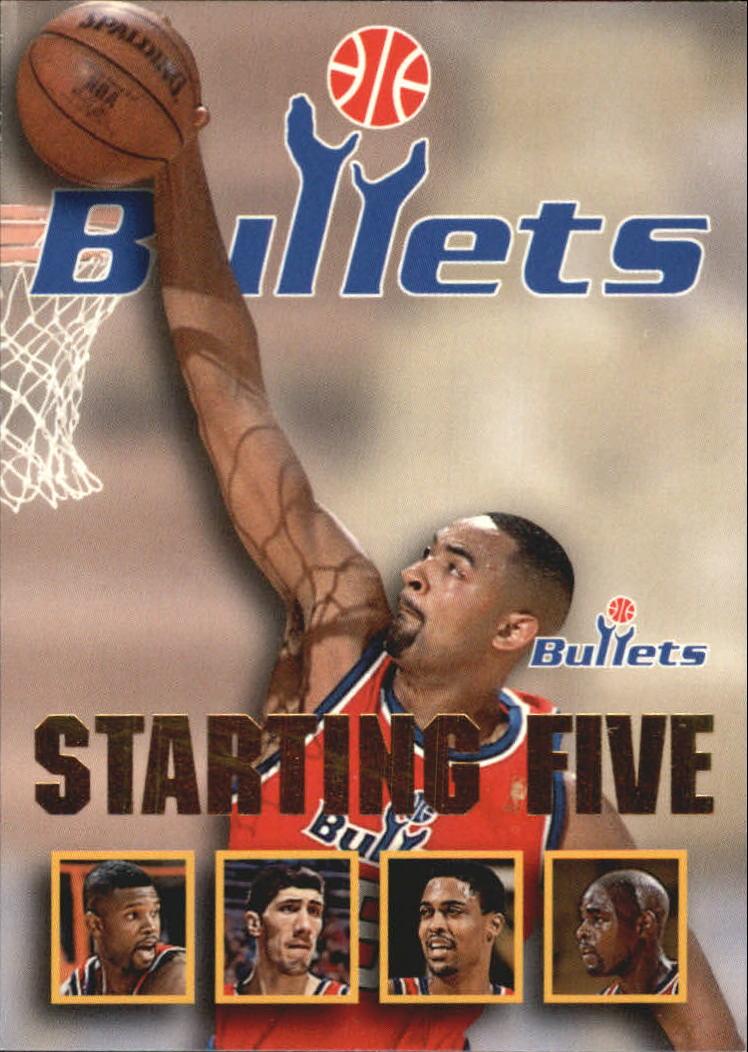 1996 97 Hoops Starting Five 29 Calbert Cheaney Juwan Howard