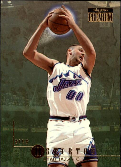 1996-97 SkyBox Premium Utah Jazz Basketball Card  194 Greg Ostertag ... 91578c781