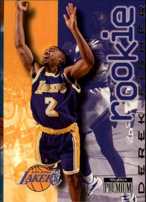 1996-97 SkyBox Premium #209 Derek Fisher ROO RC