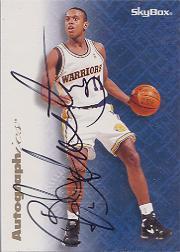 1996-97 SkyBox Premium Autographics #4 B.J. Armstrong