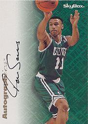 1996-97 SkyBox Premium Autographics #6 Dana Barros