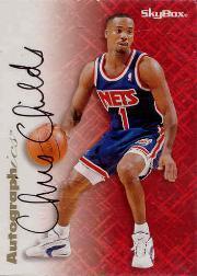 1996-97 SkyBox Premium Autographics #13 Chris Childs