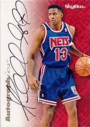 1996-97 SkyBox Premium Autographics #24 Kendall Gill