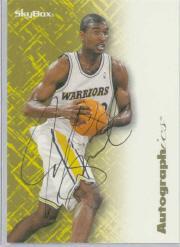 1996-97 SkyBox Premium Autographics #74 Joe Smith