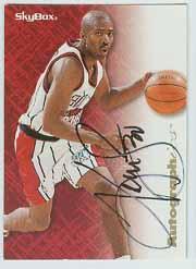 1996-97 SkyBox Premium Autographics #75 Kenny Smith