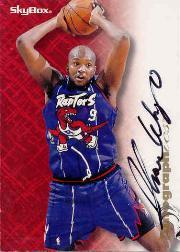 1996-97 SkyBox Premium Autographics #95 Sharone Wright
