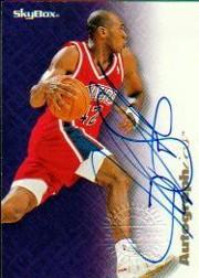 1996-97 SkyBox Premium Autographics Blue #79 Jerry Stackhouse