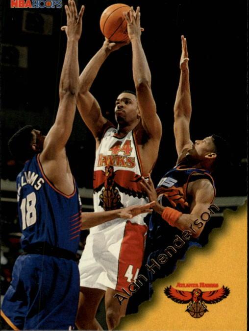 1996-97 Hoops #3 Alan Henderson