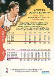 1996-97 Hoops #4 Christian Laettner back image