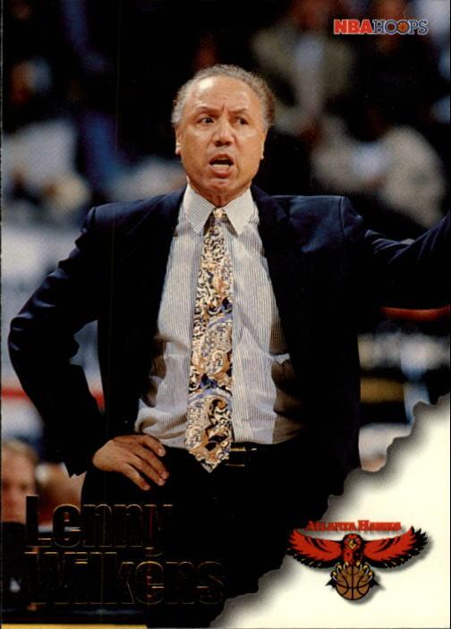 1996-97 Hoops #249 Lenny Wilkens CO
