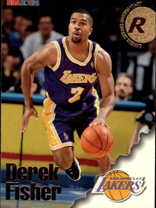 1996-97 Hoops #287 Derek Fisher RC