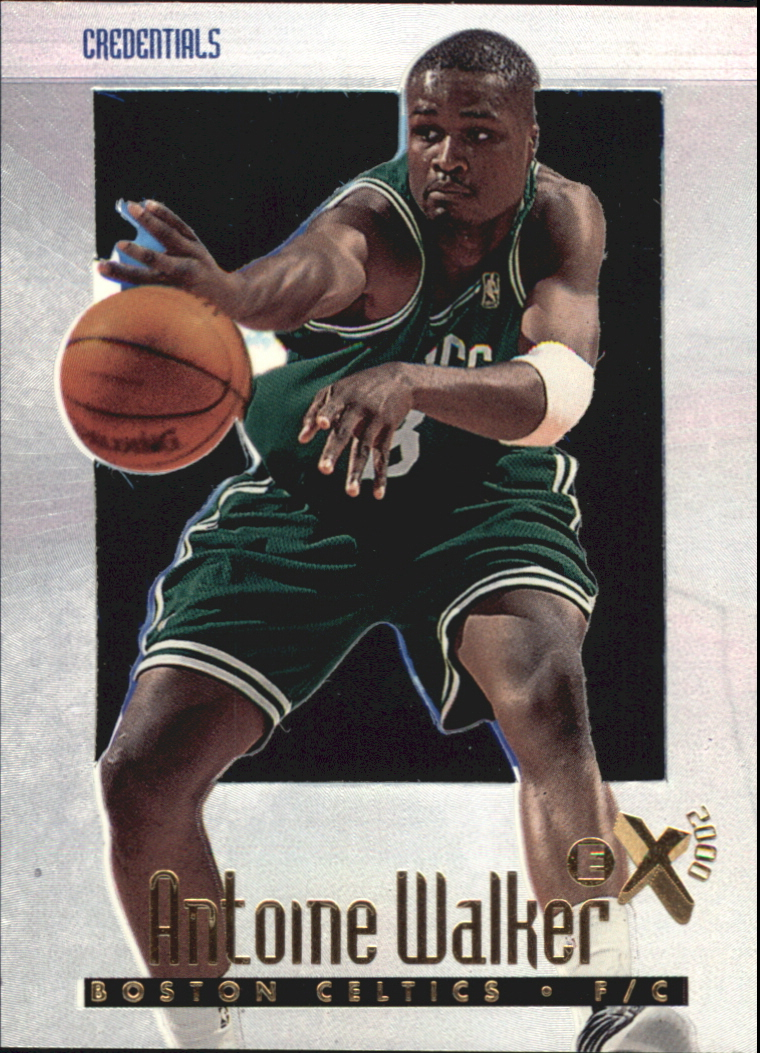 1996-97 E-X2000 Credentials #4 Antoine Walker