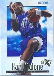 1996-97 E-X2000 Credentials #74 Karl Malone