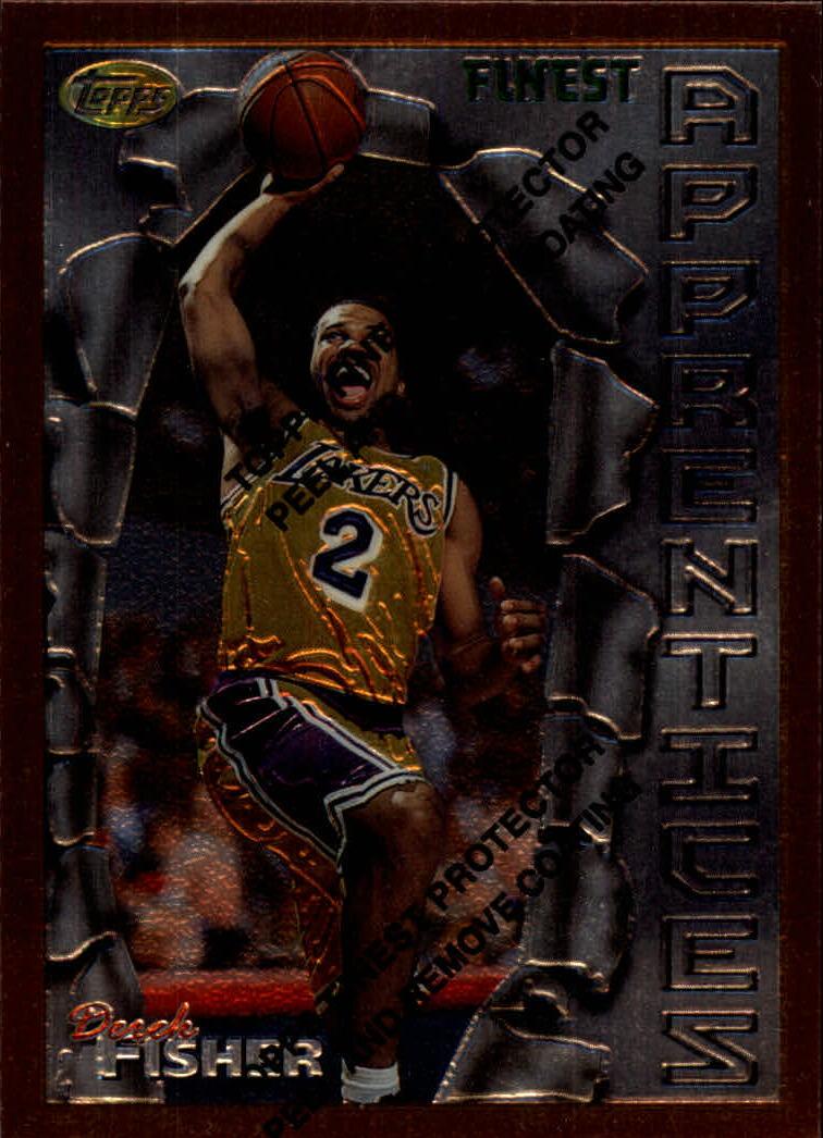 1996-97 Finest #43 Derek Fisher B RC
