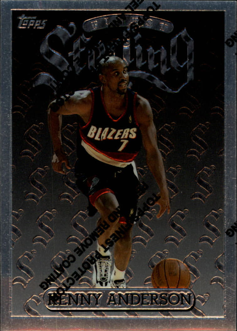 1996-97 Finest #256 Kenny Anderson S