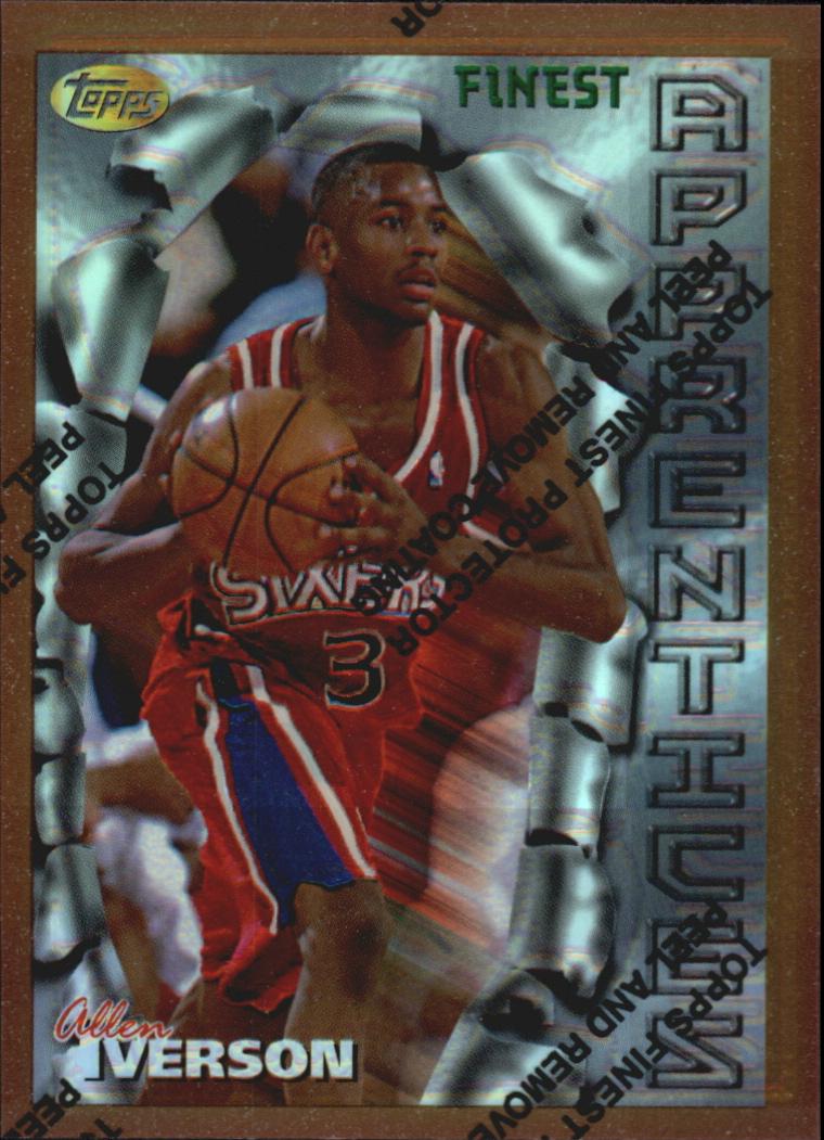 1996-97 Finest Refractors #69 Allen Iverson B
