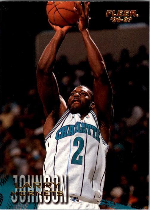 1996-97 Fleer #11 Larry Johnson