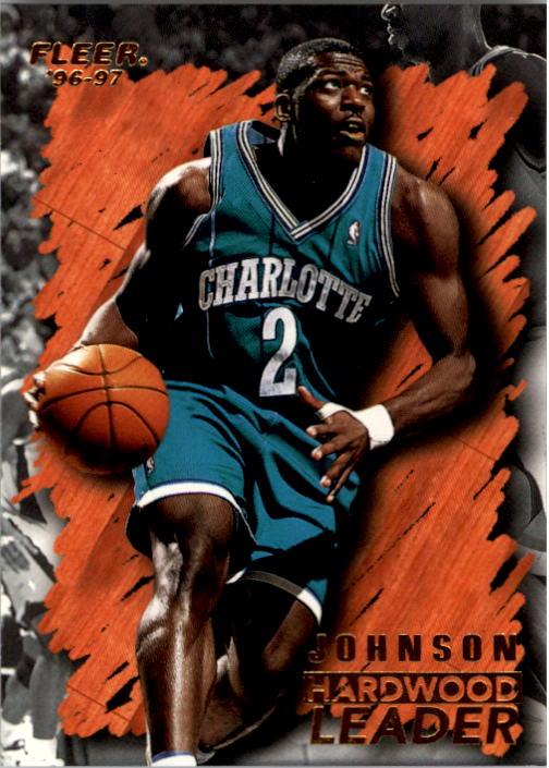 1996-97 Fleer #122 Larry Johnson HL