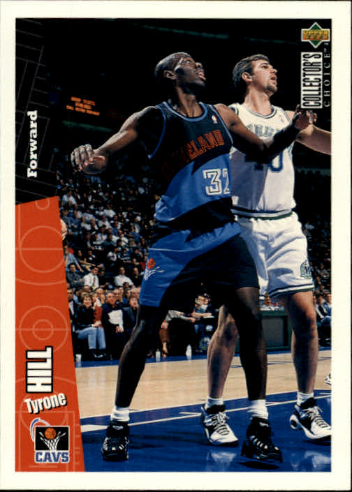 1996-97 Collector's Choice #32 Tyrone Hill